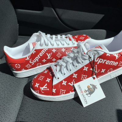 SUPREME X LV STAN SMITH
