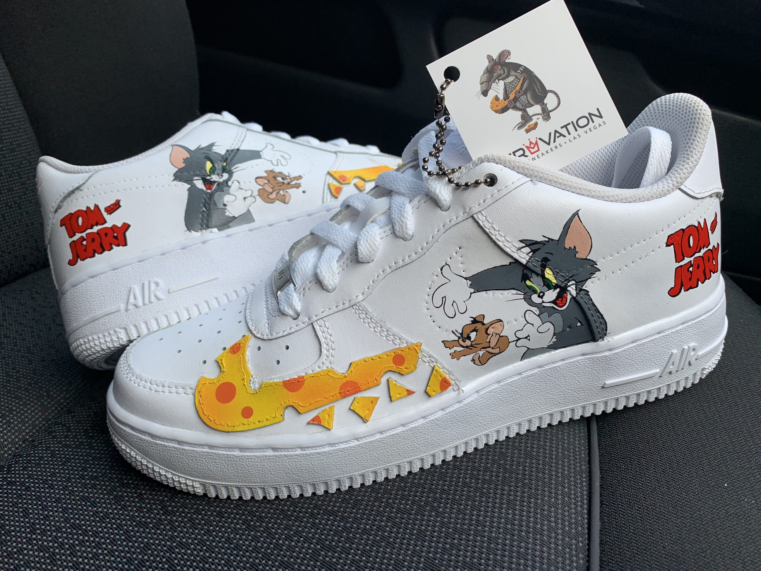 CUSTOM TOM & JERRY AIR FORCE 1