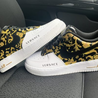 CUSTOM 18K GOLD V AIR FORCE 1