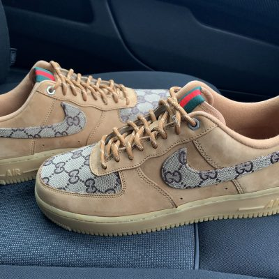 CUSTOM TAN GG X AIR FORCE 1