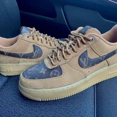 CUSTOM TAN LV X AIR FORCE 1