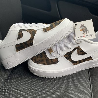 CUSTOM FENDI AIR FORCE 1