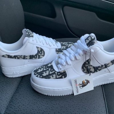 CUSTOM DIOR X BLUE AIR FORCE 1