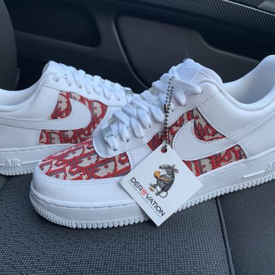 CUSTOM DIOR X AIR FORCE 1