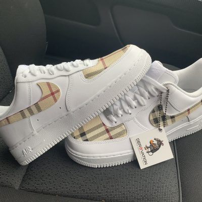 CUSTOM BURBERRY 19 AIR FORCE 1