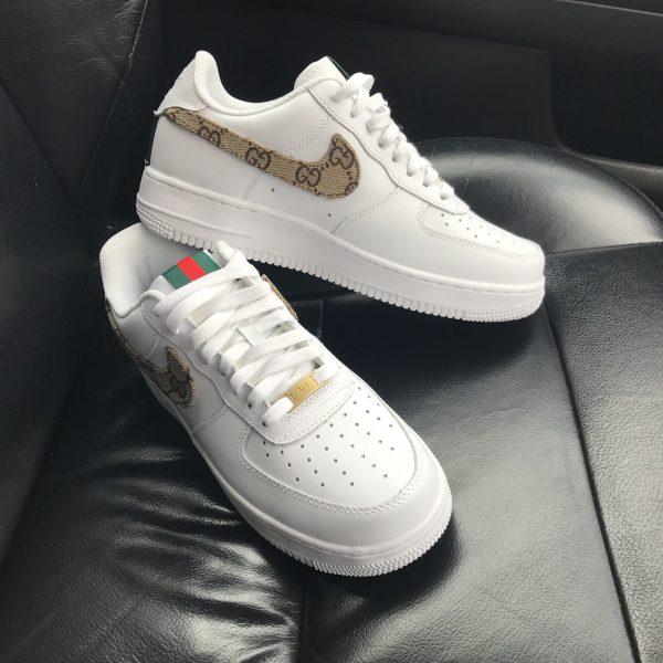 Custom Gucci Nike Air Force 1