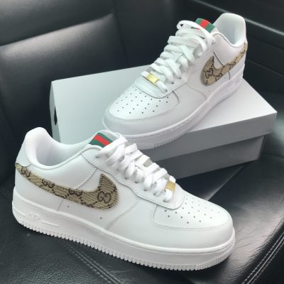 Custom Gucci Nike Air Force 1