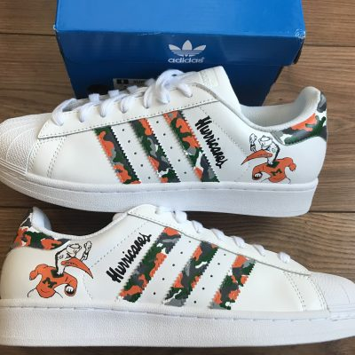 CUSTOM MIAMI HURRICANES SUPERSTAR