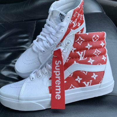 Custom sneakers Swarovski trainers