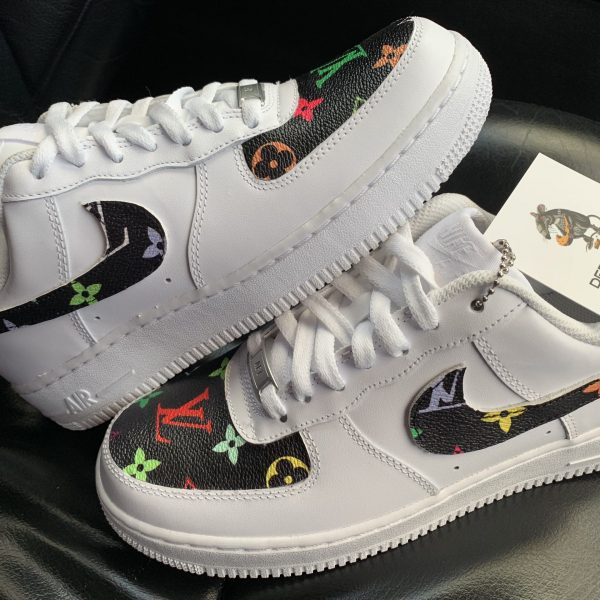 CUSTOM MULTI COLOR LV AIR FORCE 1