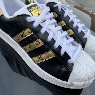 18K GOLD-BLACK LV SUPERSTAR
