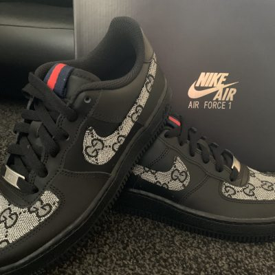 CUSTOM BLACK GG CLASSIC AIR FORCE 1