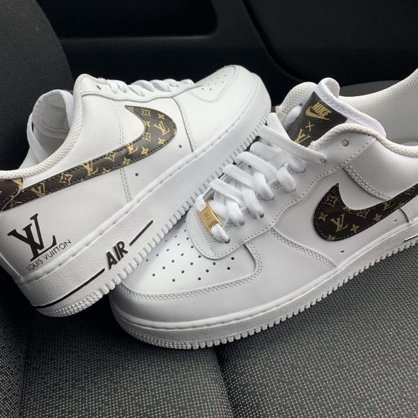 CUSTOM 18K GOLD XCE LV AIR FORCE 1