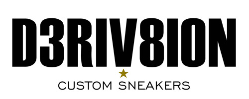 Derivation Customs - Custom sneakers Swarovski trainers