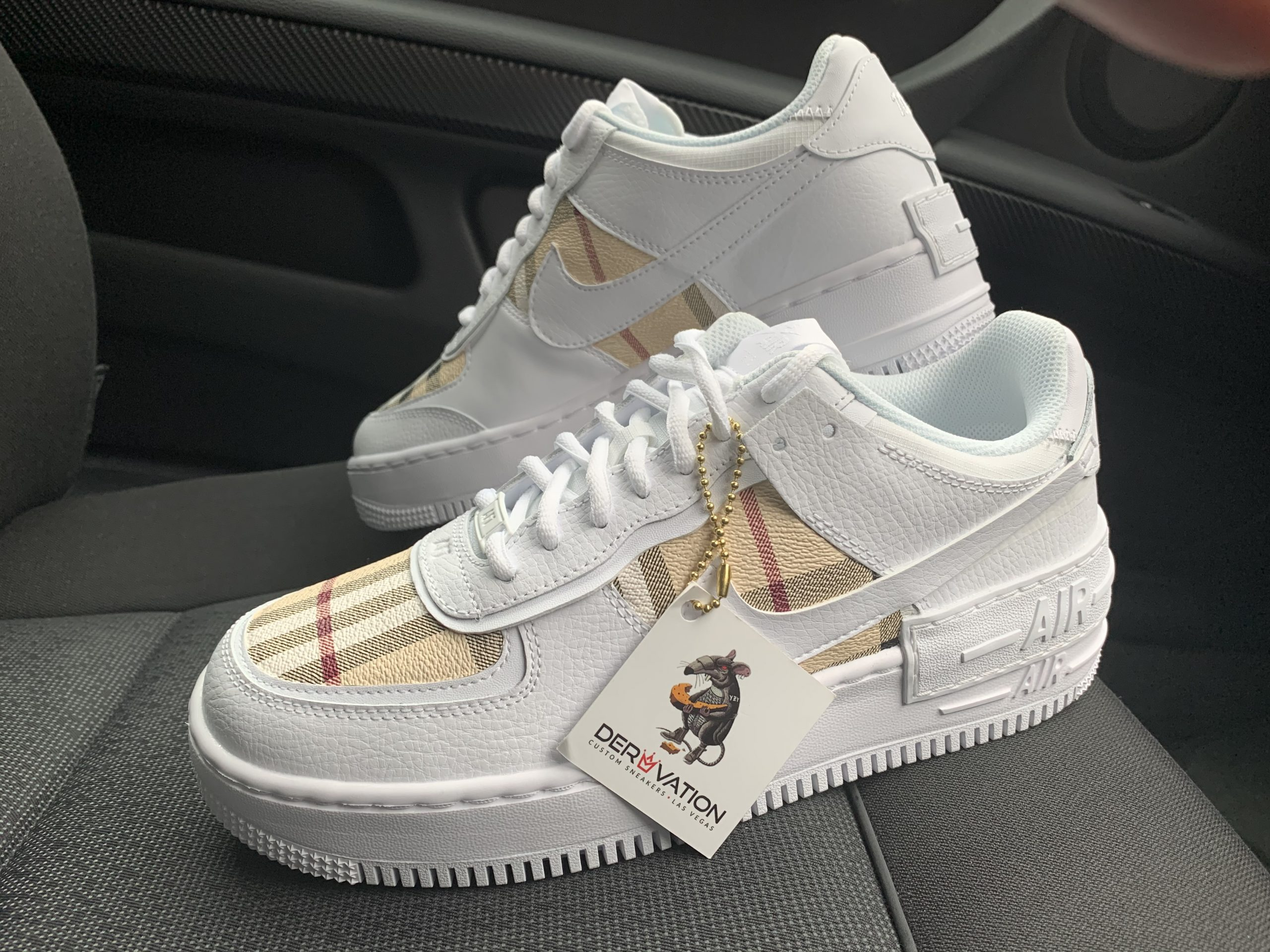 air force 1 burberry