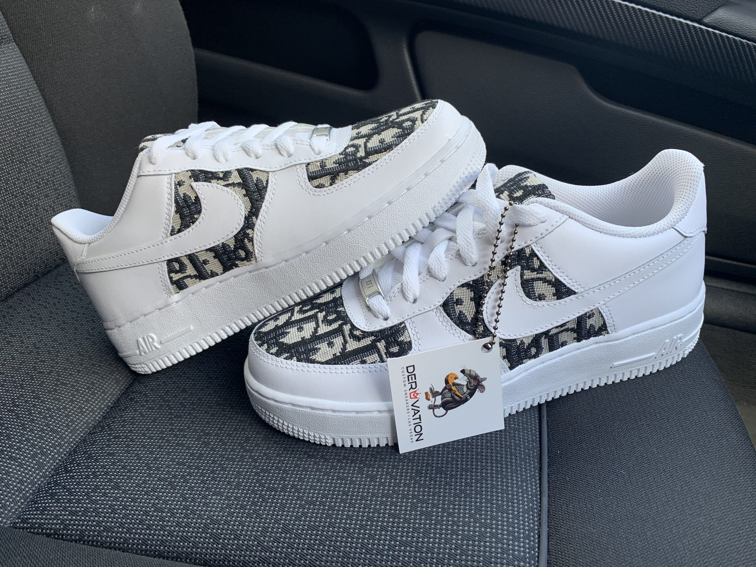 Custom Dior X 20 Air Force 1 Derivation Customs Custom