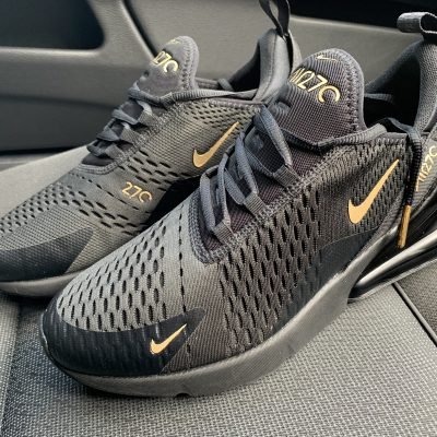 18K Gold-Black Air Max 270