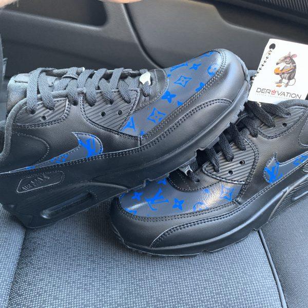 Custom Grey/Blue LV Air Max 90