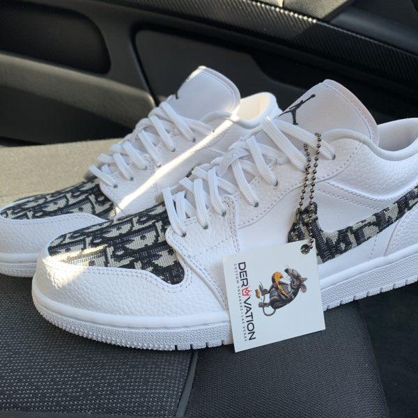 Custom Dior Jordan 1 low