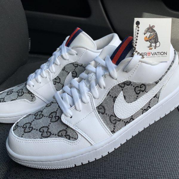 Custom Black GG Jordan 1