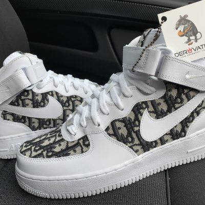 Custom Dior Air Force 1 Mid