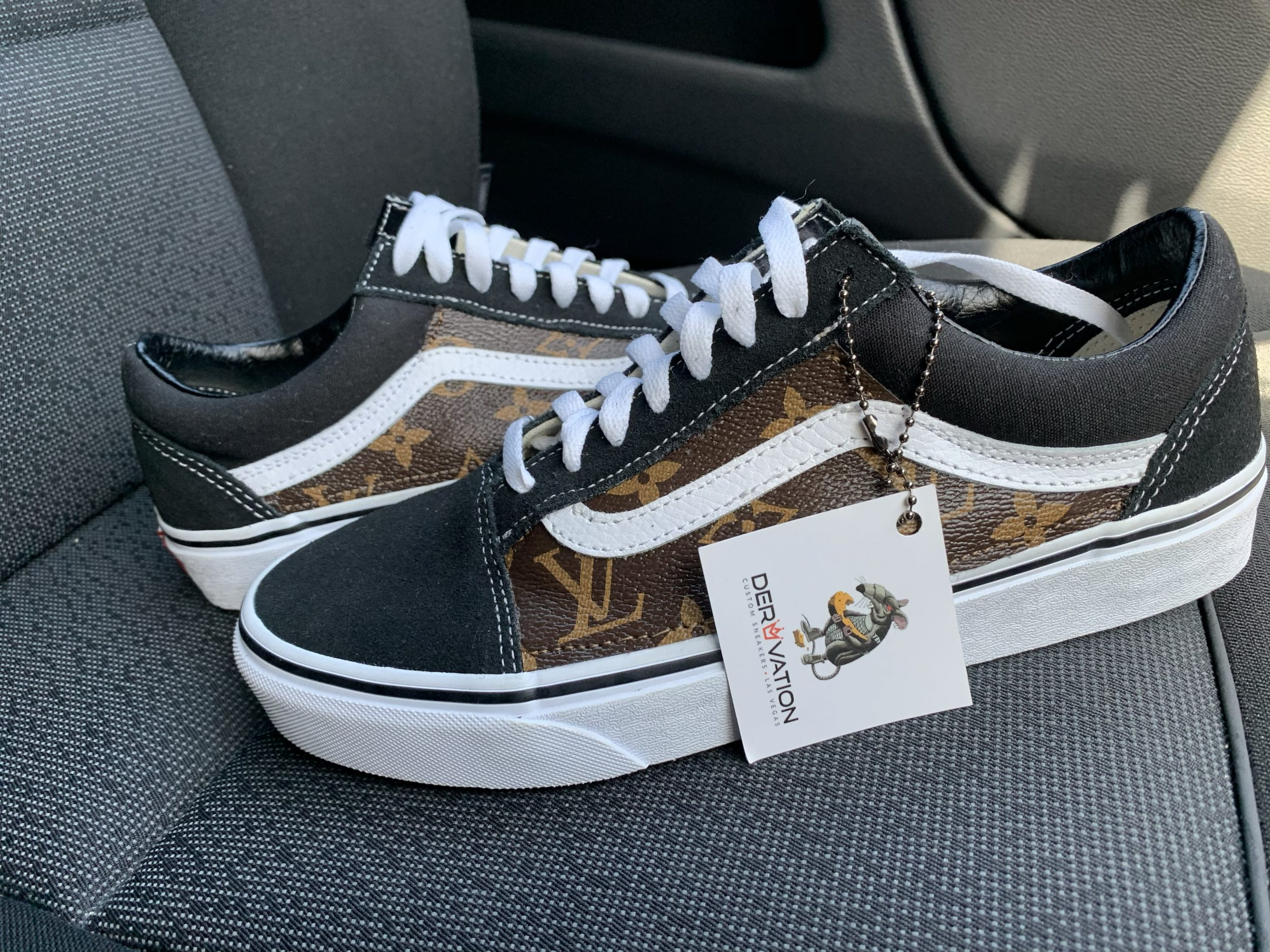 Custom LV Vans Old Skool
