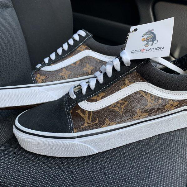 Custom LV Vans Old Skool