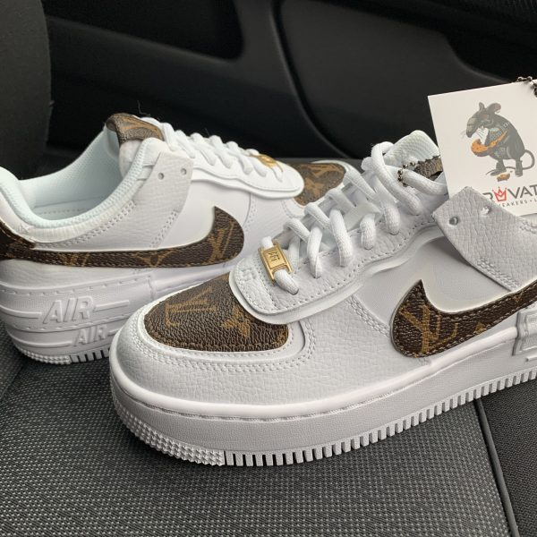 Custom LV Air Force 1 Shadow