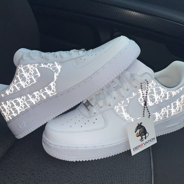 Custom Reflective Dior Air Force 1